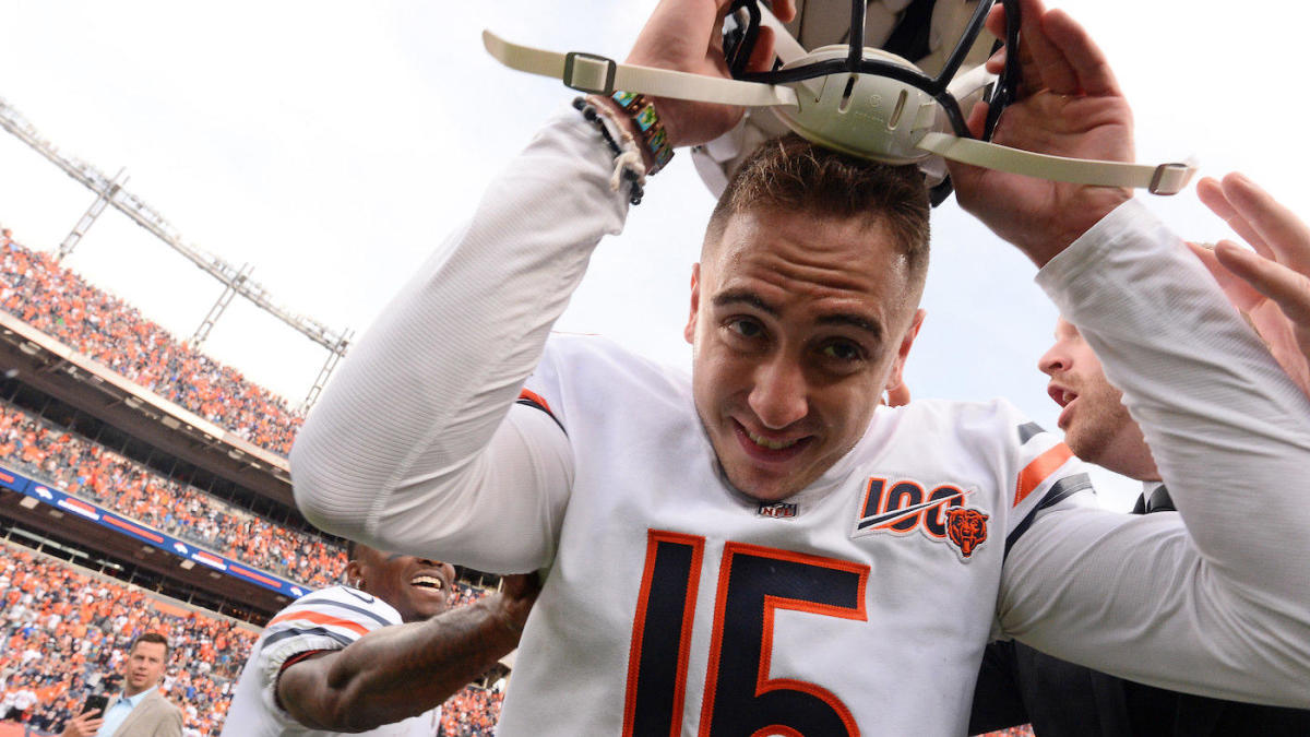 Bears believe Eddy Pineiro will play Monday night after suffering injury in weight room