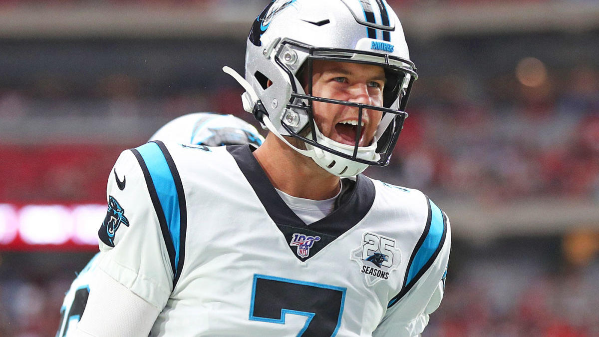 Buccaneers coach says Panthers are tougher to defend with Kyle Allen than Cam Newton