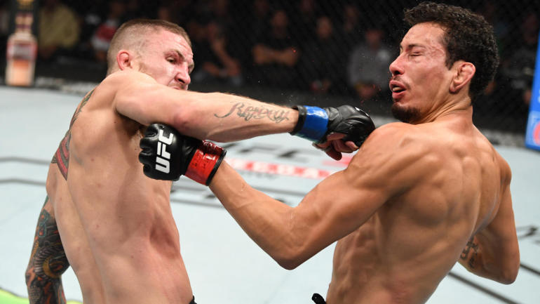 WATCH: Steven Peterson scores possible Knockout of the Year with spinning backfist at UFC Fight Night 159