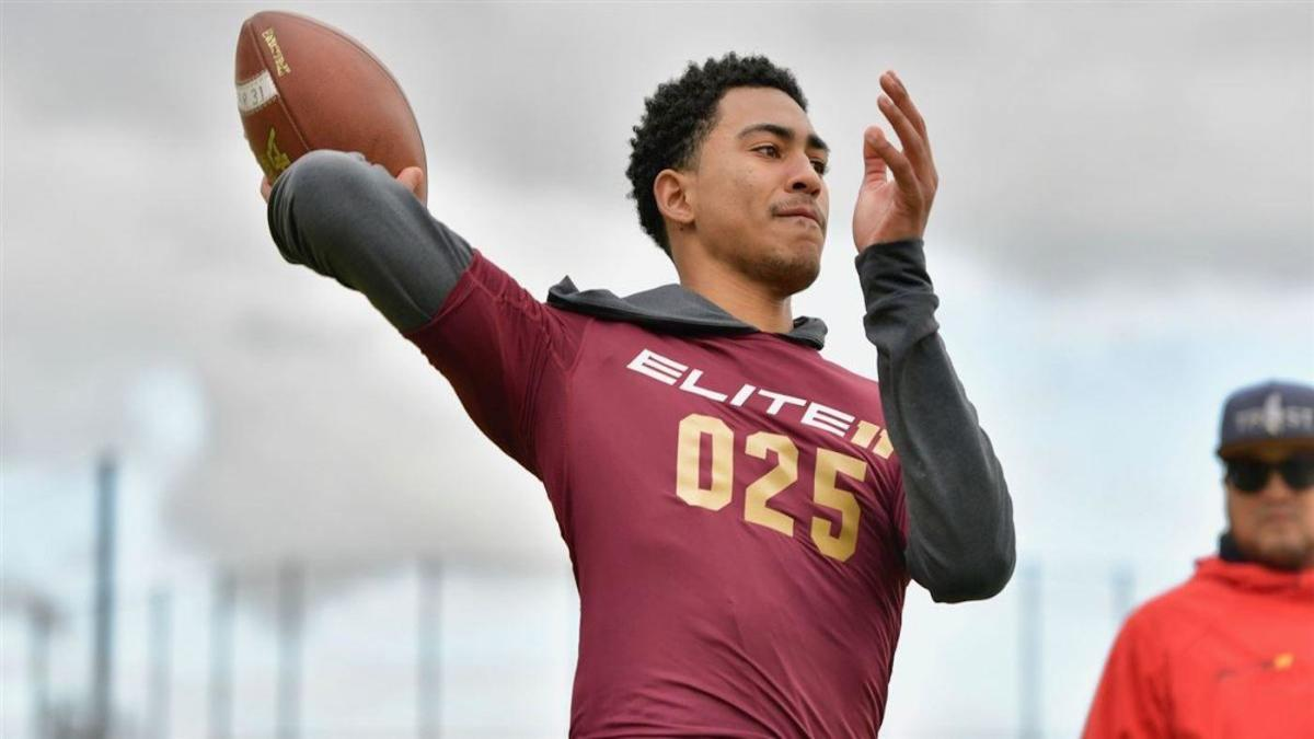 Five-star 2020 quarterback flips to Alabama from USC after weekend visit to Tuscaloosa