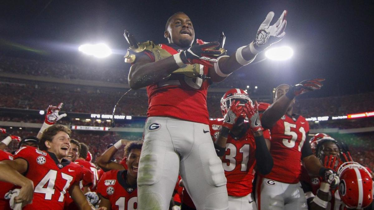 Georgia proves it belongs among the national title contenders by finishing off Notre Dame