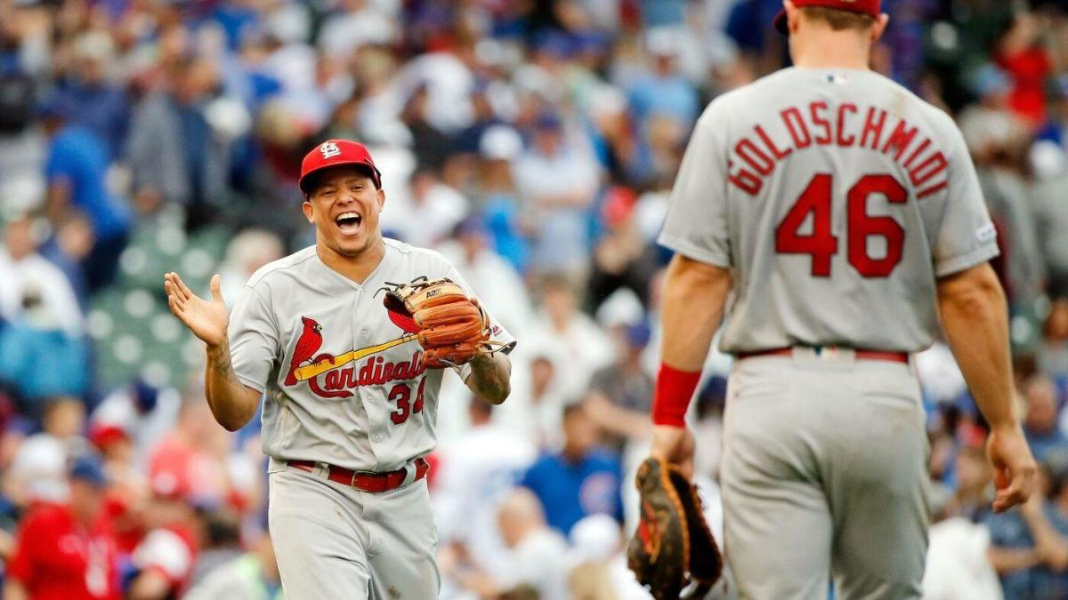 MLB scores: Cardinals complete sweep of Cubs to secure playoff spot; George Springer's three homers help Astros clinch