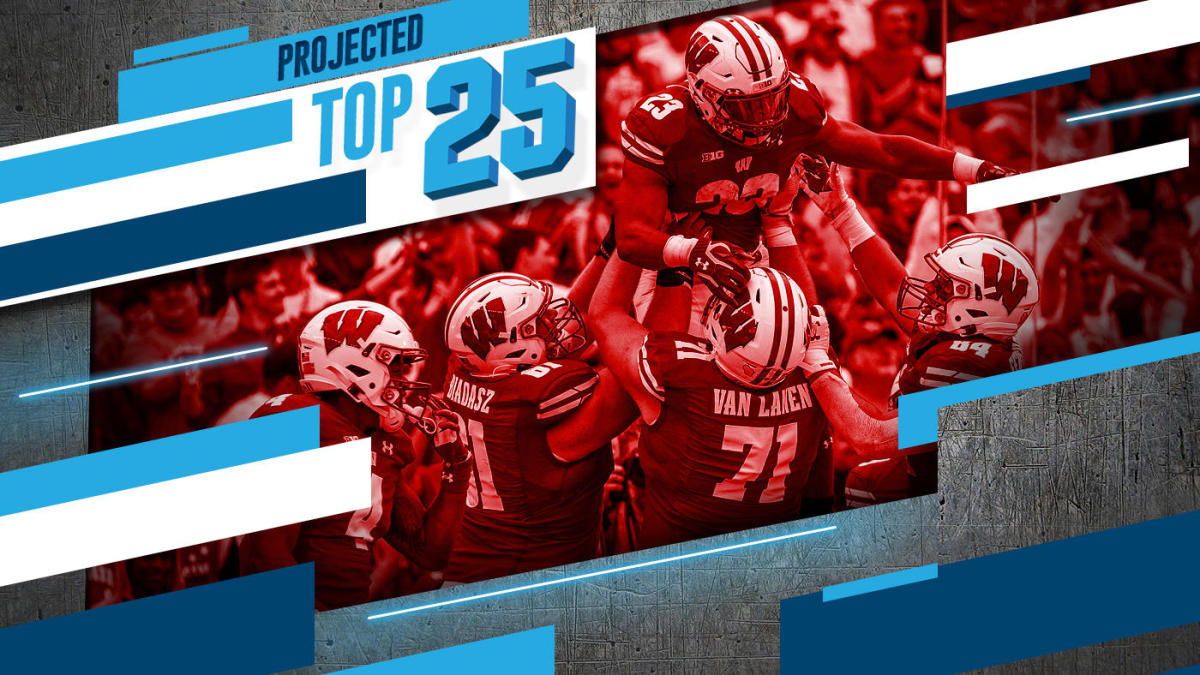 Tomorrow's Top 25 Today: Wisconsin's big gain, Michigan's sharp fall in college football rankings