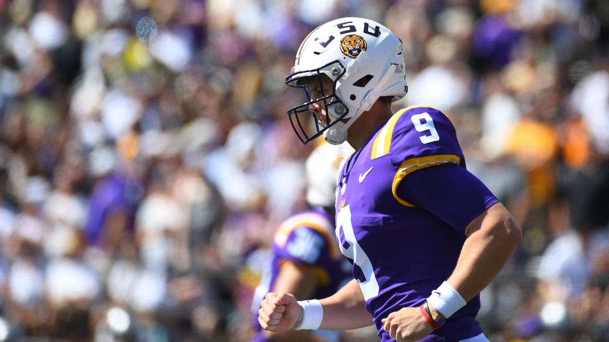 competitive price 17365 83b39 The Monday After: Joe Burrow makes LSU, not Georgia, the ...