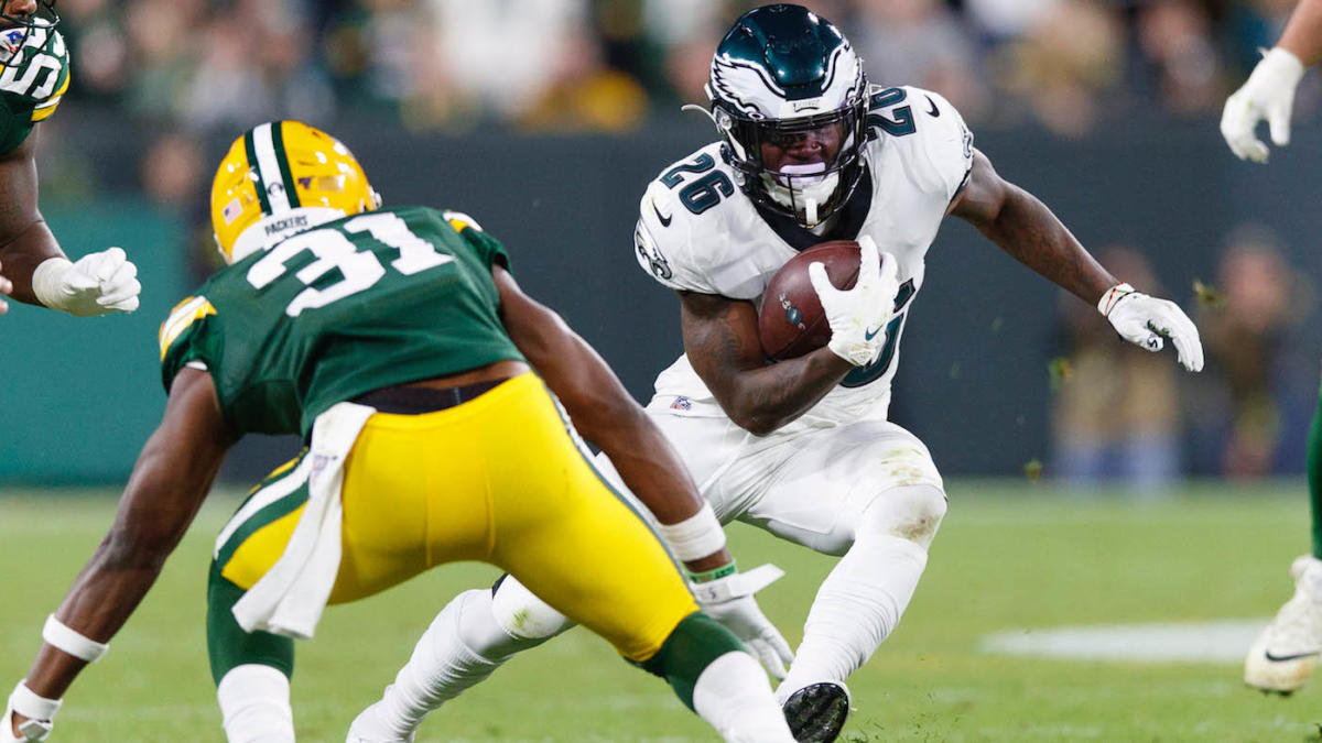Eagles Vs Packers Final Score Philadelphia Dominates The Trenches Aaron Rodgers Big Game Falls Short Late Cbssports Com