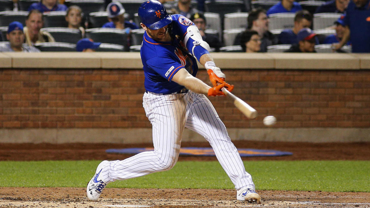 Mets slugger Pete Alonso ties Aaron Judge's rookie home run record
