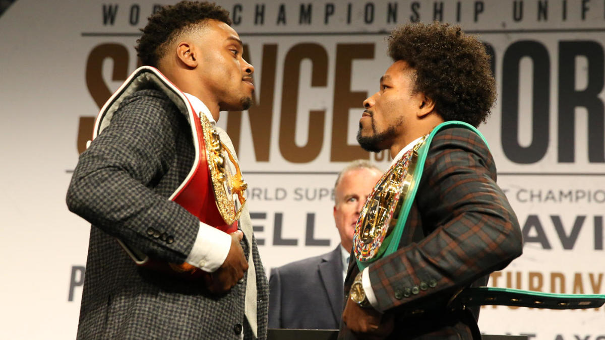 what time does errol spence jr fight