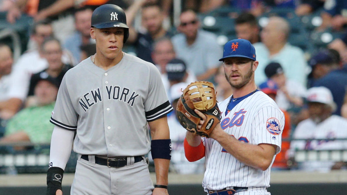 Aaron Judge says there is 'no better person to share' the rookie home run record with than Pete Alonso