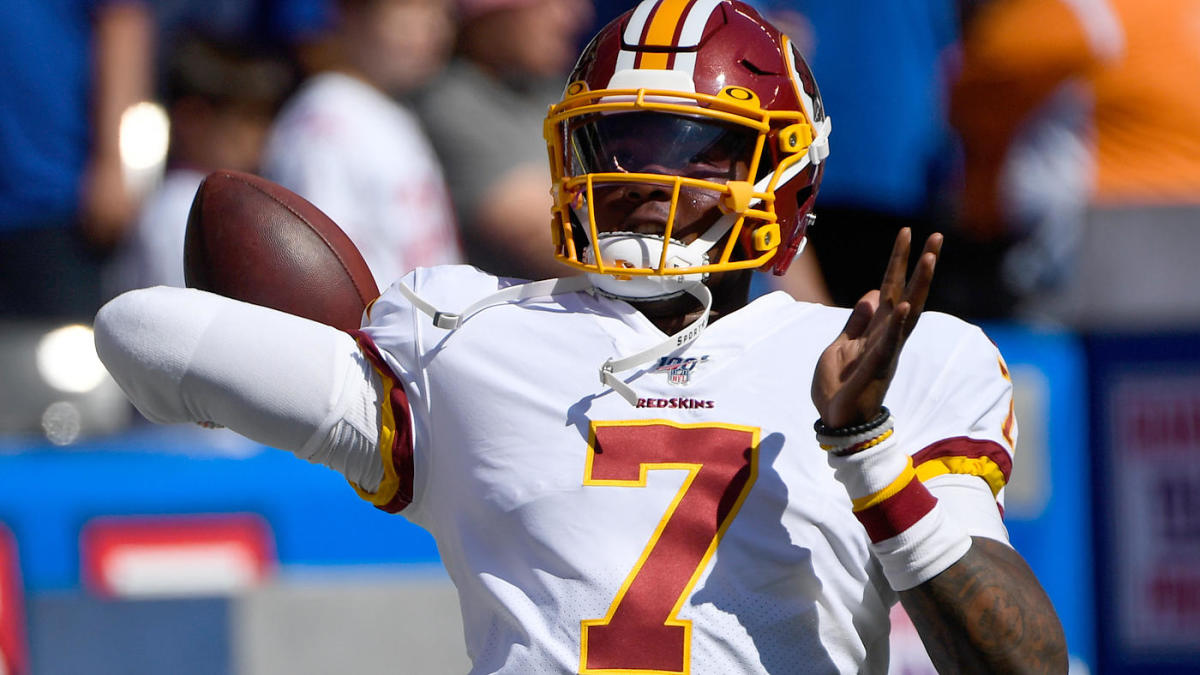 Redskins Name Dwayne Haskins Starting Quarterback For Remainder Of 2019 Season Cbssports Com