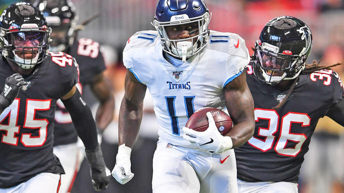 Week 10 Wide Receiver Preview A J Brown Could Have Big Opportunity Without Corey Davis Cbssports Com