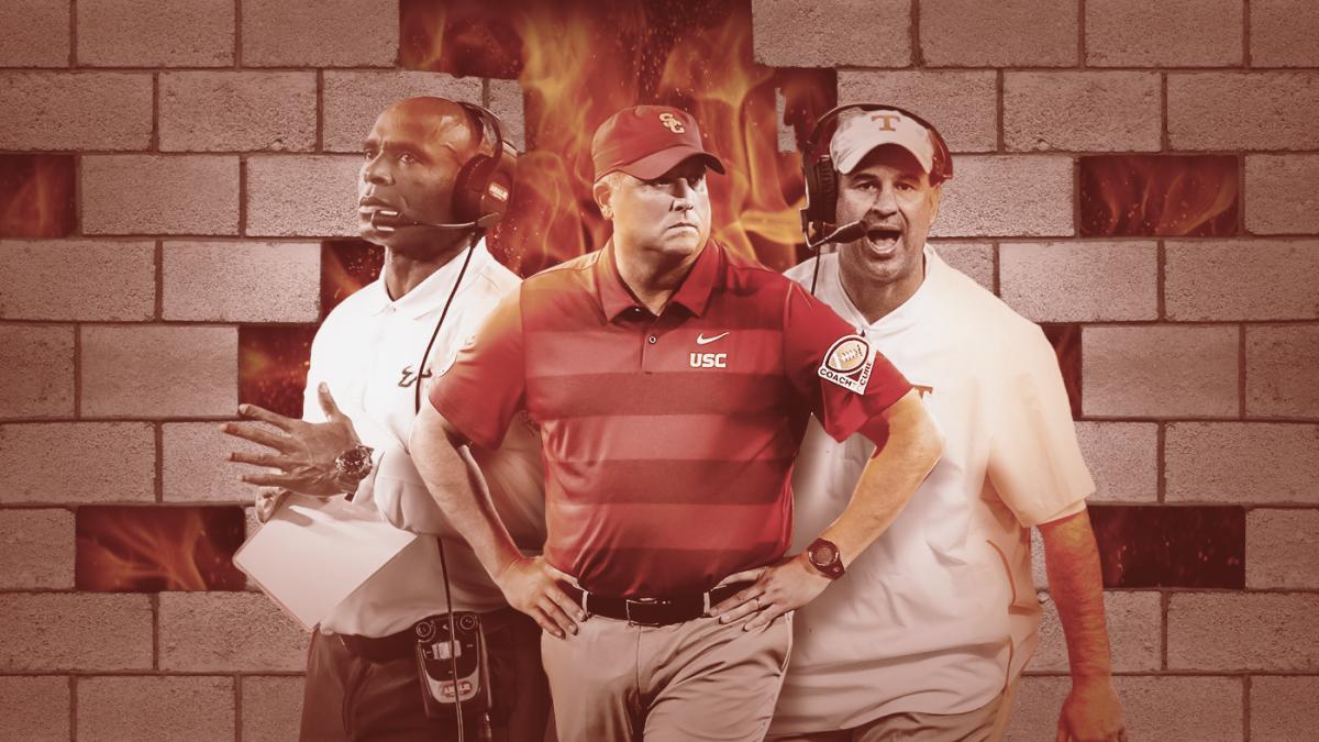 Hot Seat Rankings: Clay Helton, Jeremy Pruitt among coaches feeling heat as 2019 unfolds