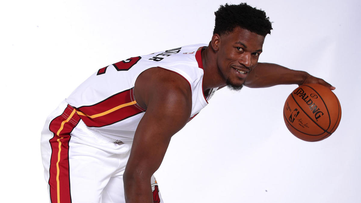 Heat's Jimmy Butler and Meyers Leonard really want you to know they worked out at 3:30 a.m.