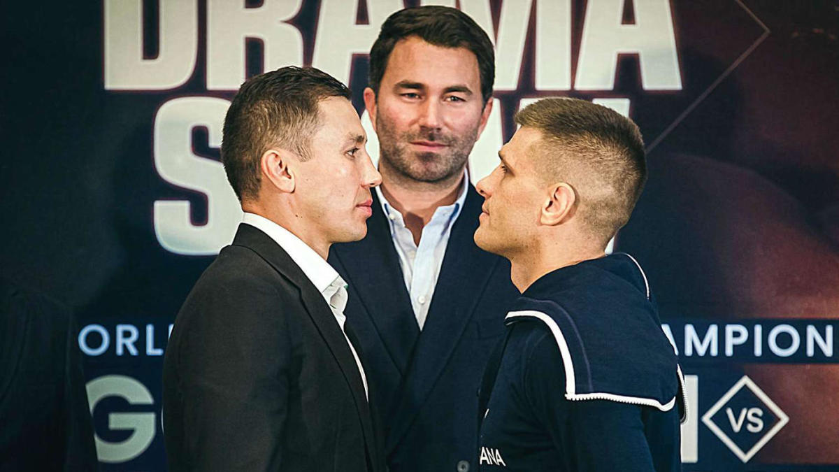Image result for Golovkin vs Derevyanchenko Live