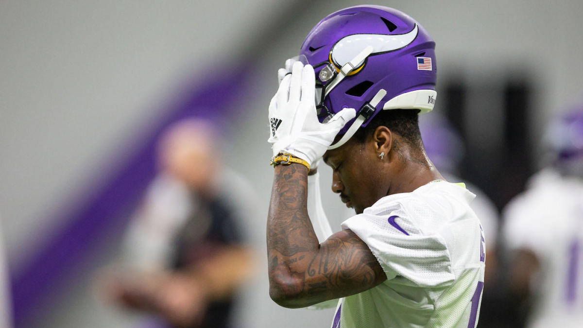 Image result for stefon diggs unhappy