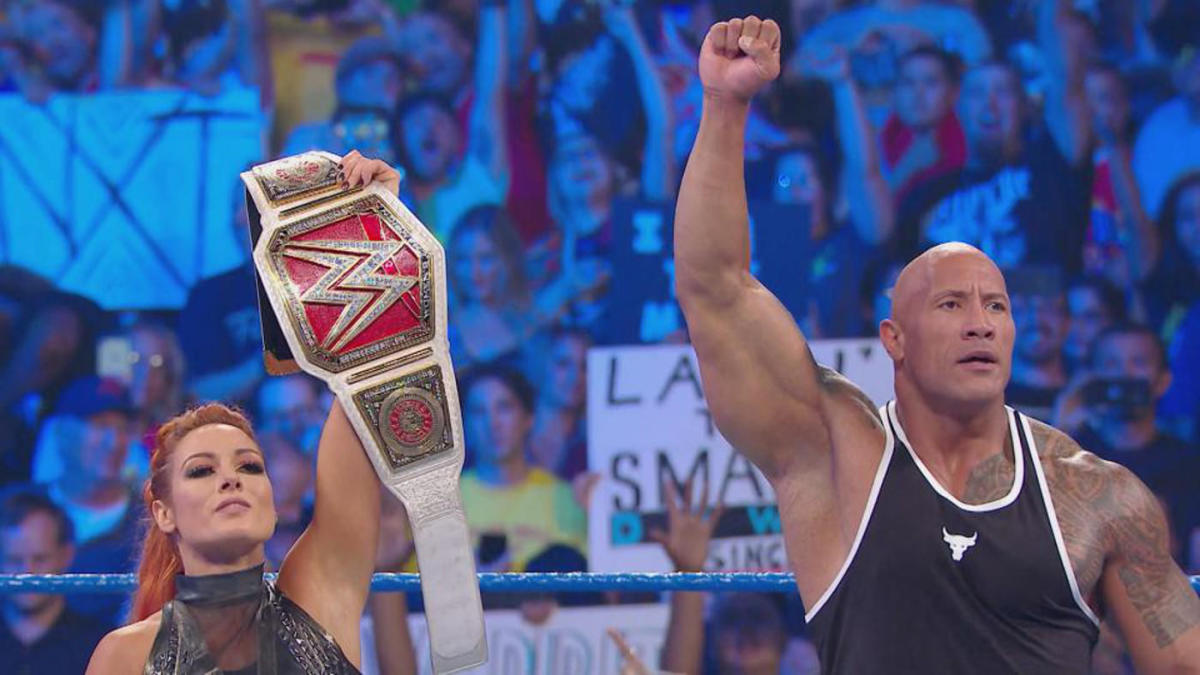 WWE SmackDown results, recap, grades: Stunning debut, The Rock, title change highlight Fox premiere