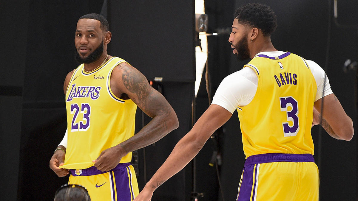 Lakers 2019 20 Roster Projected Starting Lineup Lebron