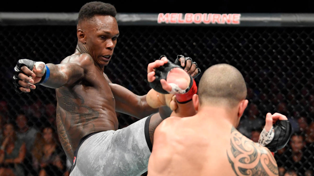 Israel Adesanya Beats Whittaker By KO To Become UFC Middleweight Champion