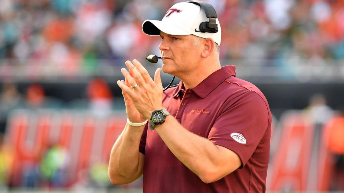 Virginia Tech coach Justin Fuente emerges as 'leading candidate' for Baylor job, per report
