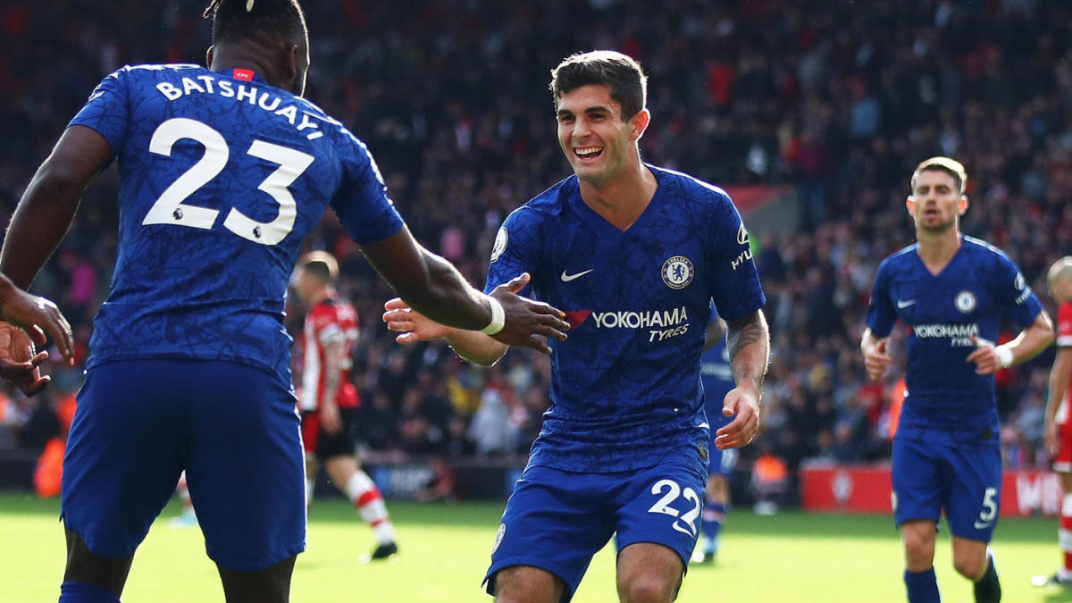 Christian Pulisic finally sees the field for Chelsea again, bags lovely assist in Premier League victory