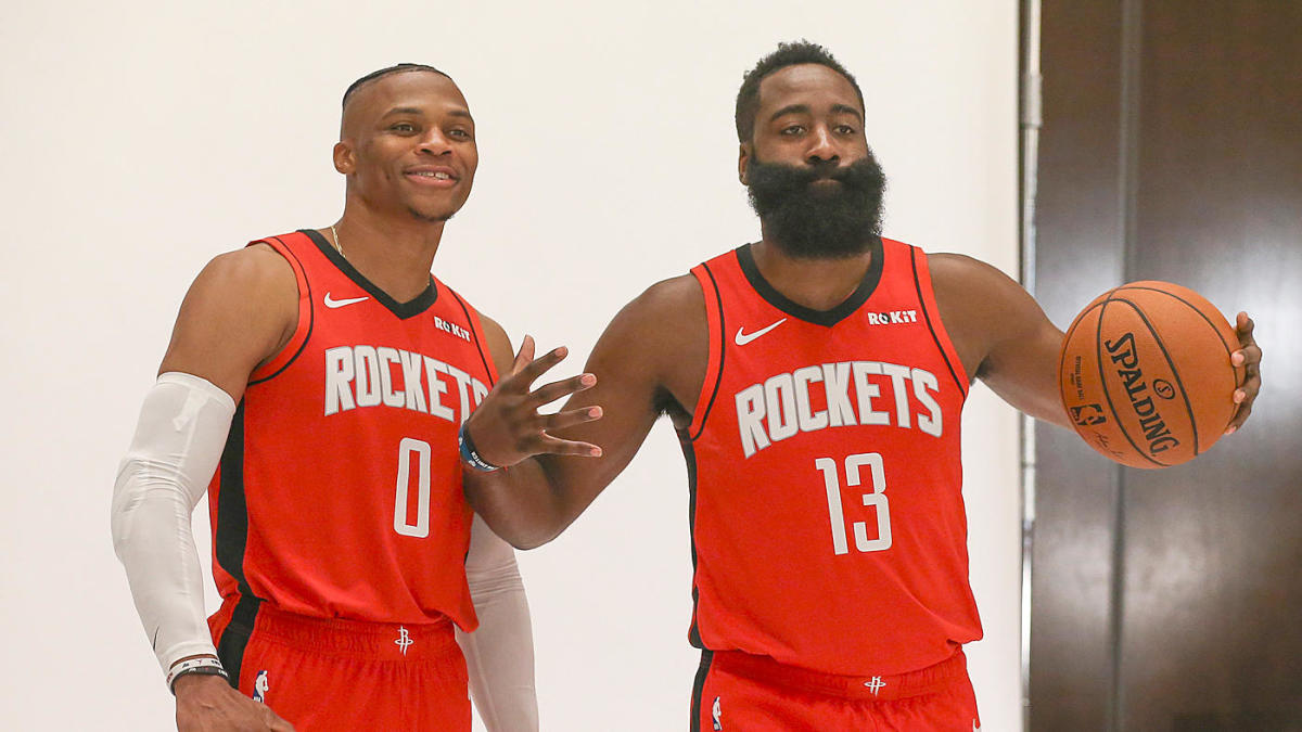 Rockets' 2019-20 roster, projected starting lineup: James Harden, Russell Westbrook lead re-tooled cast
