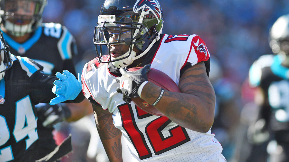 Patriots reportedly acquire receiver Mohamed Sanu from Falcons for second-round draft pick