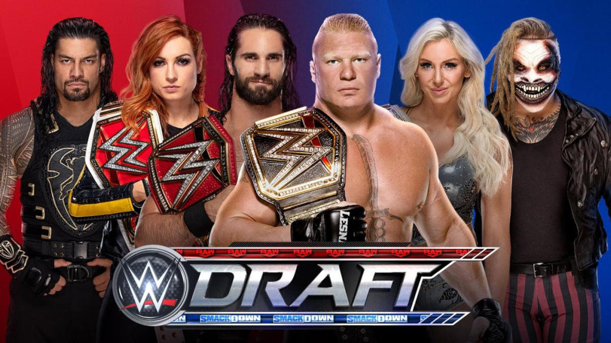 2019 WWE Draft results: SmackDown and Raw rosters, picks, pools, undrafted superstars, rules, format