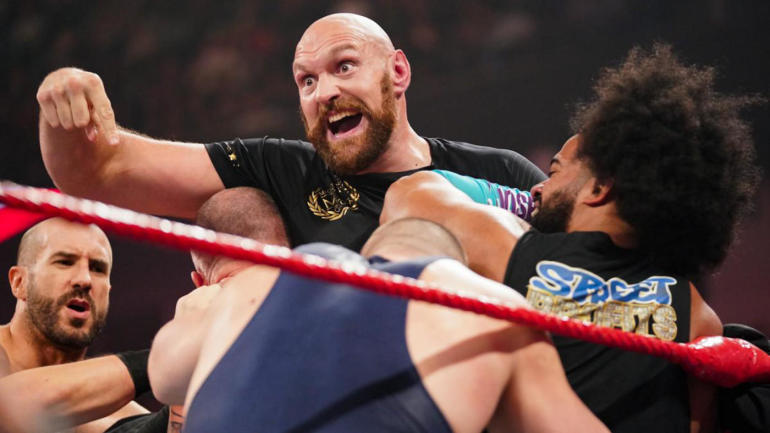 Tyson Fury dismisses WWE criticism from 'hater' Eddie Hearn, Triple H says match will 'blow people's minds'