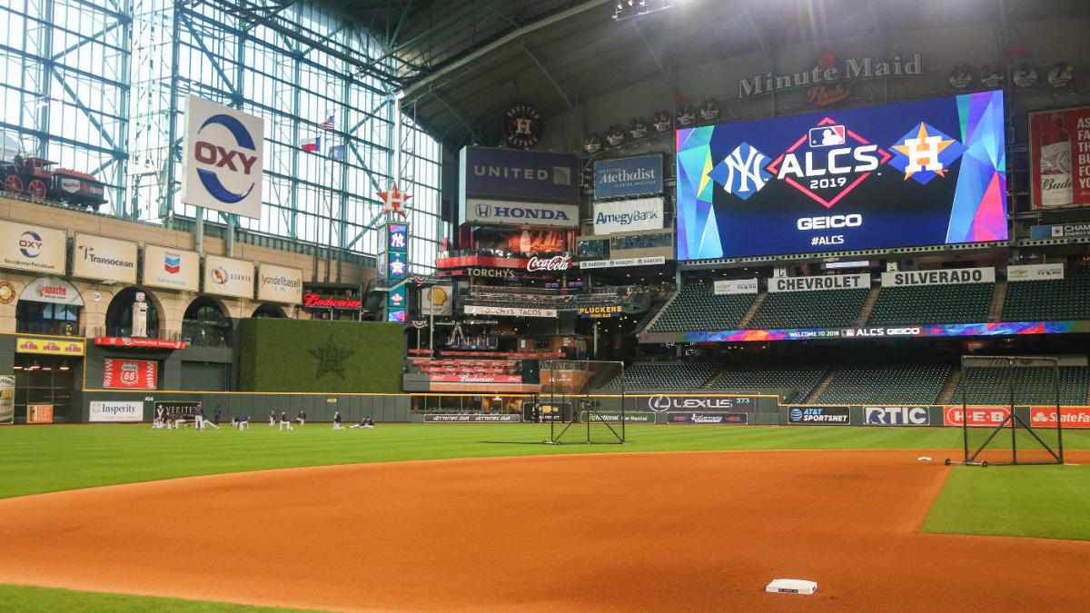 Paramedic in Astros dugout hospitalized after getting struck with foul ball during ALCS Game 2