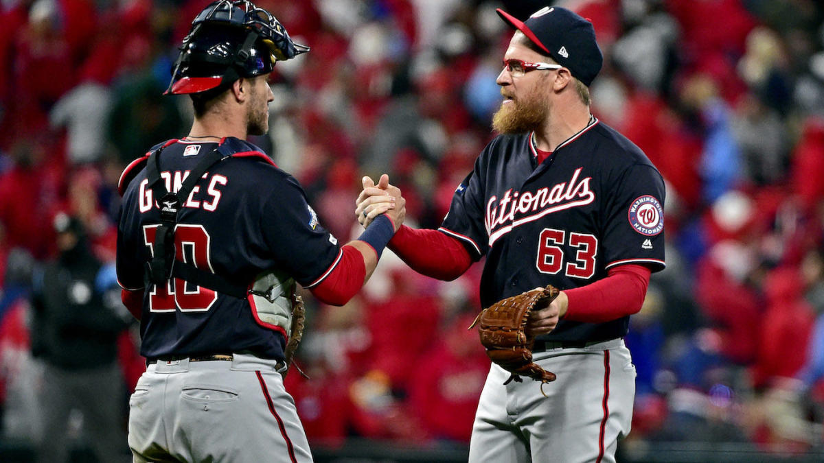 MLB playoffs: Nationals' Sean Doolittle has turned back into a bullpen stud after knee injury