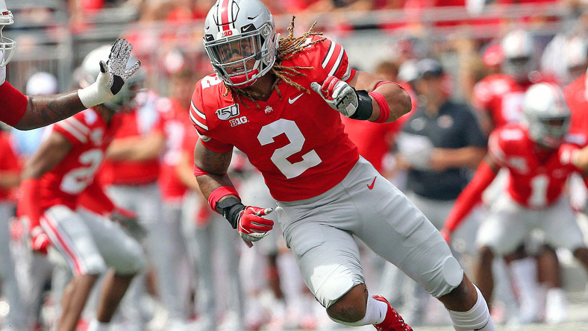 College Football Games Week 13 With Chase Young S Return Will Ohio State Roll Vs Penn State Cbssports Com