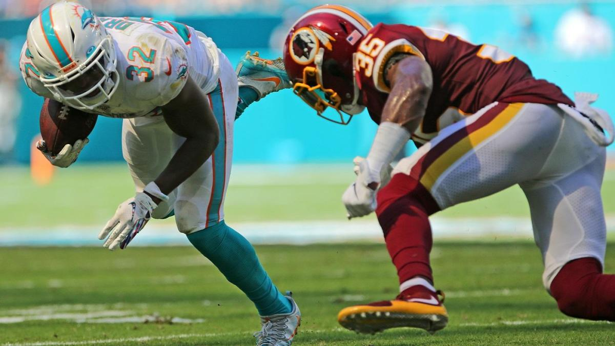 Redskins win 'Tank Bowl' after Dolphins' two-point attempt ends in disastrous fashion
