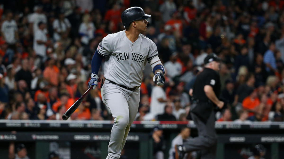 Yankees vs. Astros ALCS: Gleyber Torres continues breakout postseason with monster Game 1