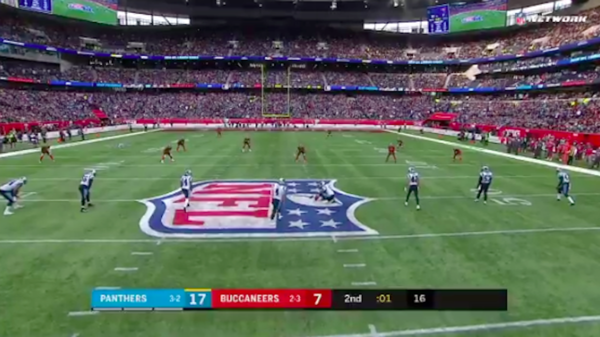 Panthers take advantage of rarely used fair catch kick rule to try 60-yard field goal against Buccaneers