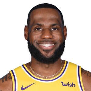 Lebron James Sf Los Angeles Lakers Nba Cbssports Com