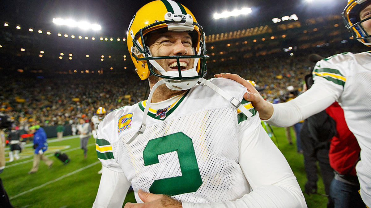 Packers sign kicker Mason Crosby through 2022 with $12.9M extension, per reports