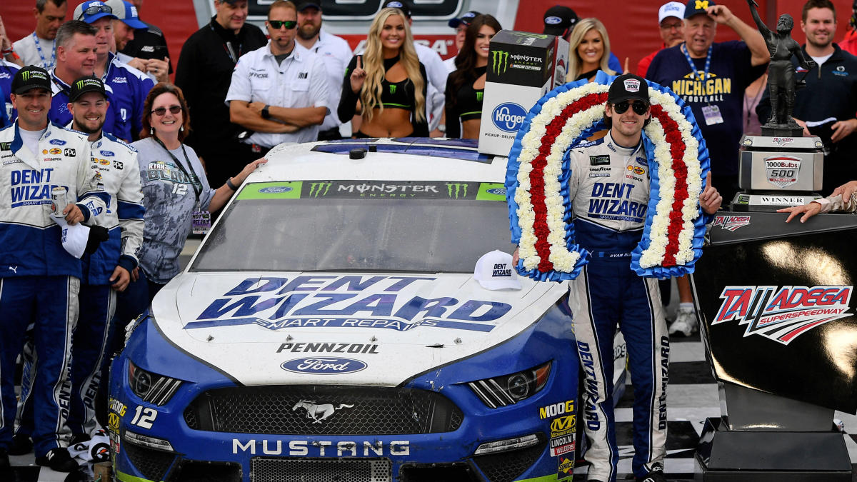 Ryan Blanley wins NASCAR Cup Series race by 0.007 seconds at Talledega in historic photo finish