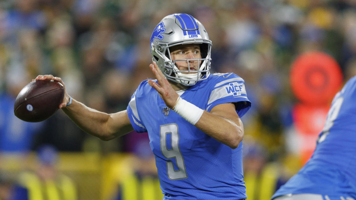 Matt Patricia explains decision to sit Matthew Stafford, NFL reviewing  Lions handling of injury report - CBSSports.com