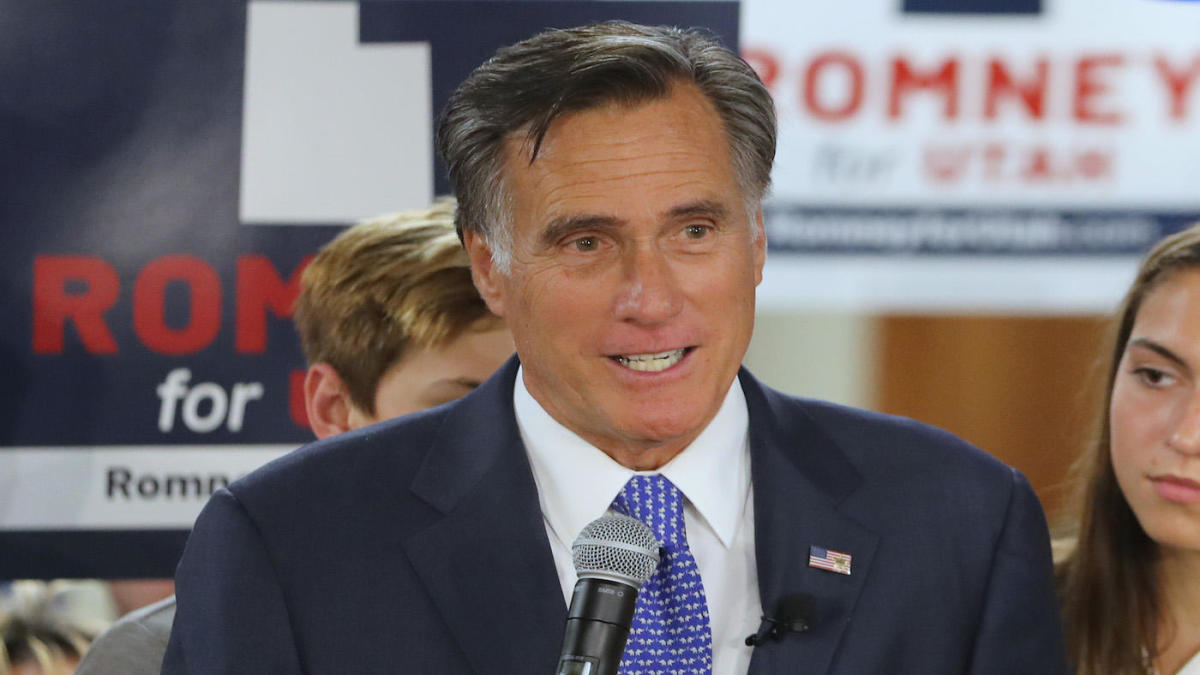 Mitt Romney Tells Ncaa We Re Coming For You Says Congress Will Act On Name Image Likeness Cbssports Com