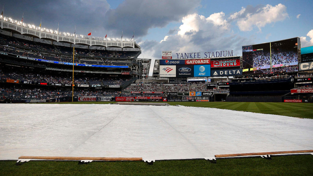 Yankees vs. Astros postponed: ALCS Game 4 in New York pushed back due to heavy rain in forecast