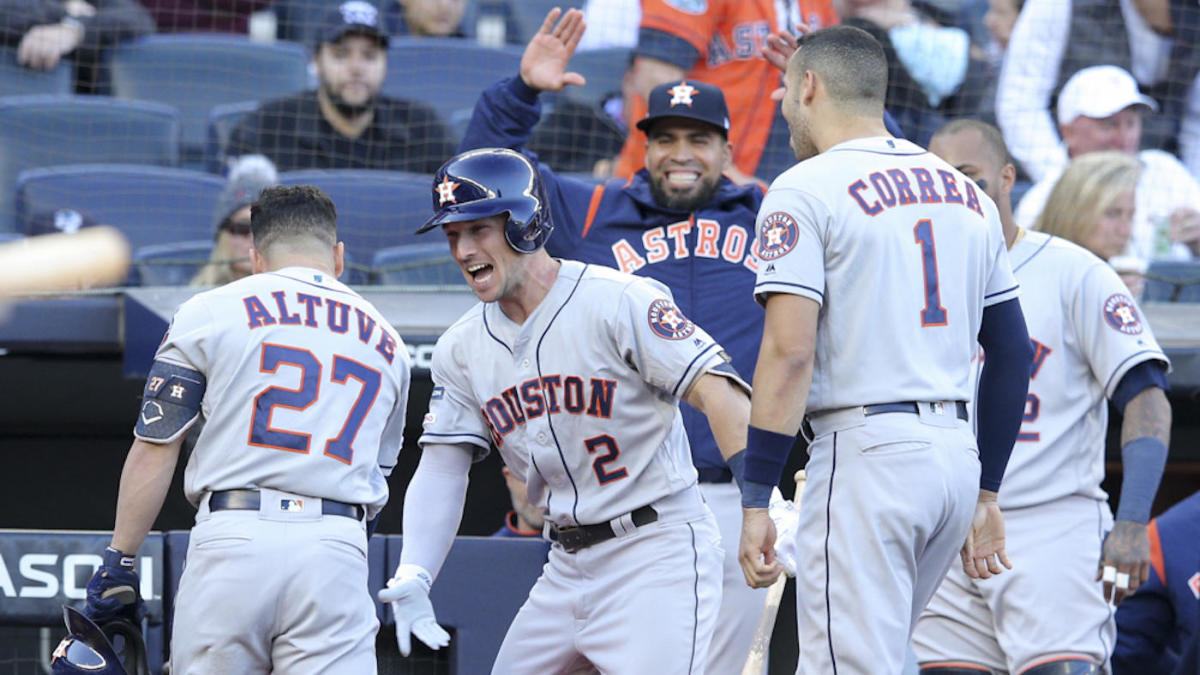Astros vs. Yankees takeaways: Jose Altuve remains a playoff monster; Yanks' fly balls die on warning track