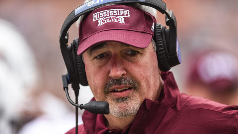 Mississippi State coach Joe Moorhead emerging as 'top candidate' for Rutgers job, a report says