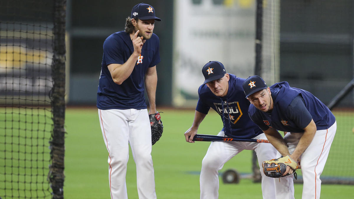 Yankees, Astros dugouts engaged in shouting match over whistling related to pitch-tipping, per reports