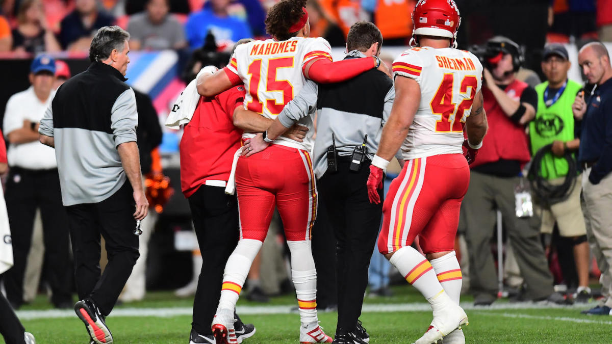 Patrick Mahomes injury: Chiefs' quarterback gives update, says ...