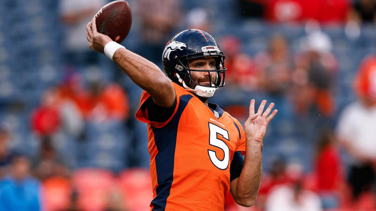 Joe Flacco Signs One Year Deal With New York Jets To Compete For