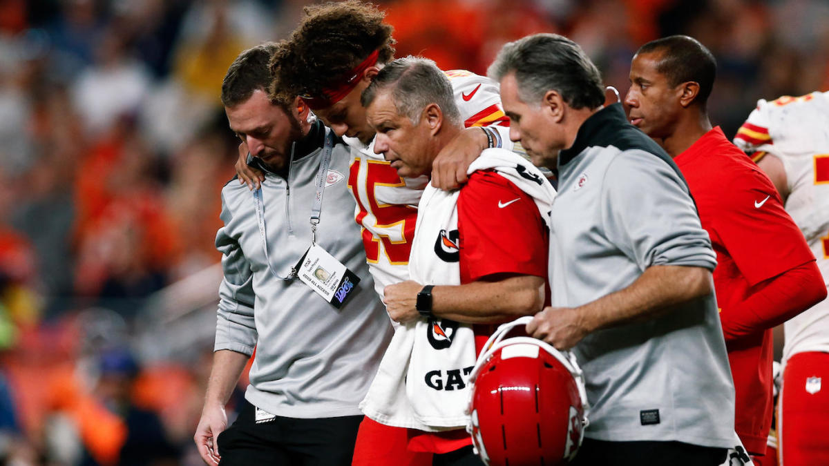 Patrick Mahomes Knee Injury Projected Recovery Timetable