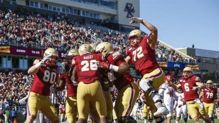 Boston College to face Cincinnati in Birmingham Bowl on 1/2
