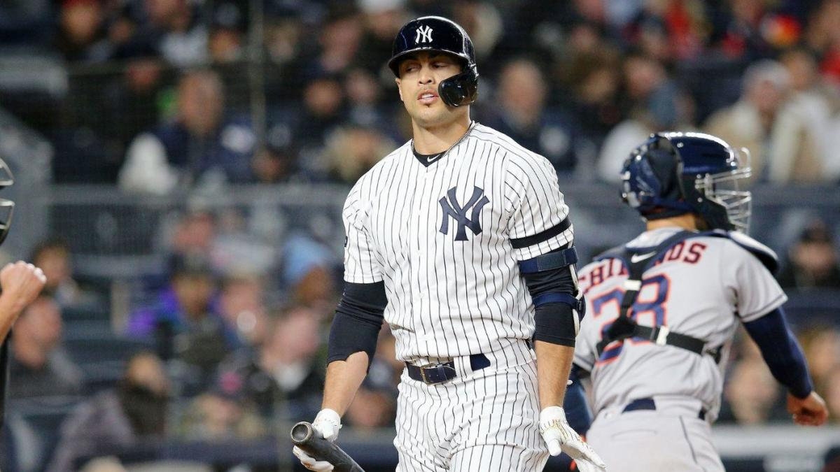 Yankees vs. Astros: Giancarlo Stanton out of New York's lineup for ALCS Game 6