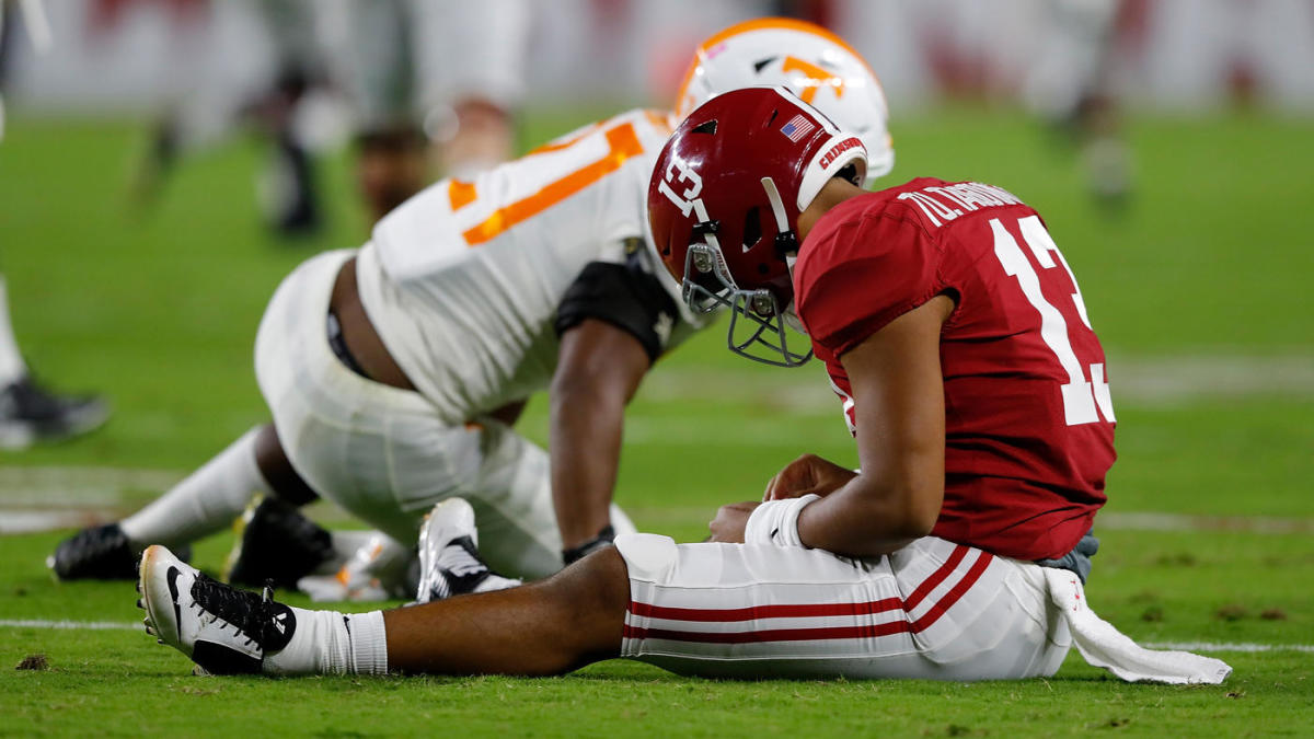 College football top 25 scores, overreactions, Week 8: Alabama is no longer the SEC's best without Tua