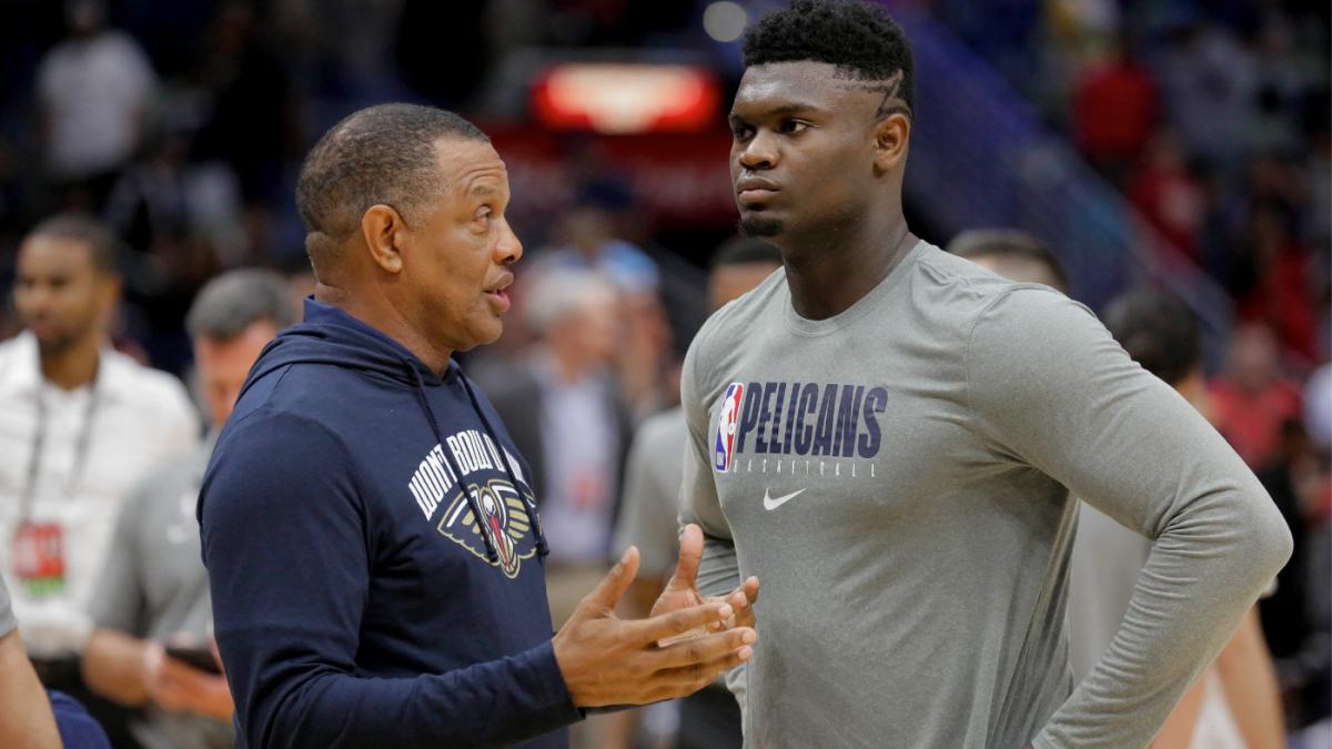 Zion Williamson injury update: David Griffin says Pelicans star is ...