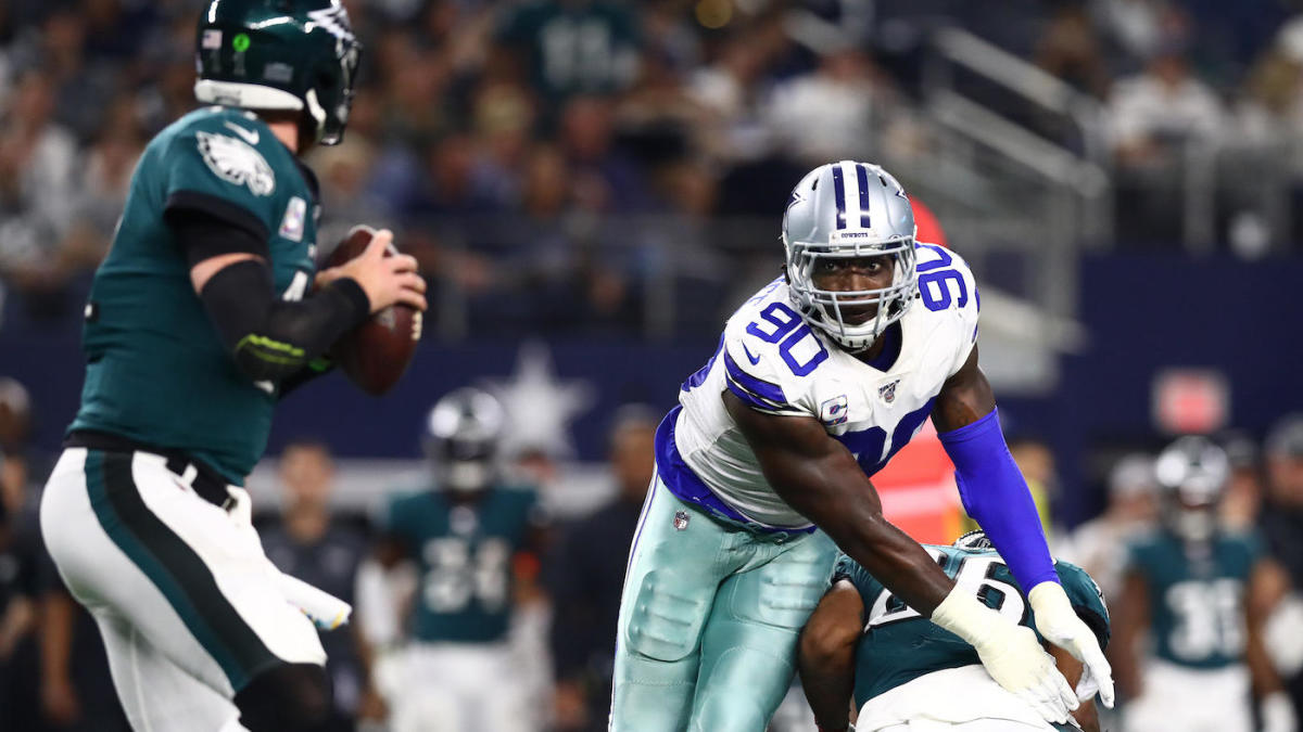 DeMarcus Lawrence delivers big in Cowboys dismantling of Eagles, fires parting shot at Doug Pederson